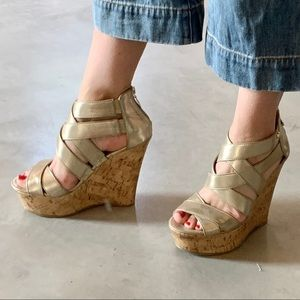 Guess Wedges Like New Women's SZ 7